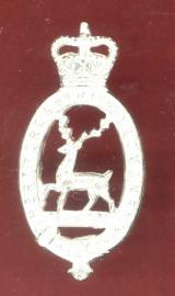 The Hertfordshire Yeomanry Officer's Dress cap badge